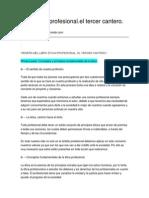 Libro Etica Profesional.el Tercer Cantero.-25!10!2010