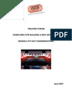 Theatre Guidelines