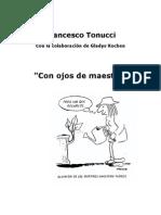 """Francesco Tonucci """"Con ojos de maestro"""""""