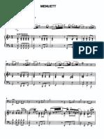 Menuett from the Cello Concerto (Gulda)