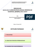 Ikhtisar RPJMN 2015-2019