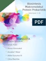 Mekanisme Biosintesis Protein Prokariota