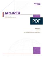iAN-02 EX Command Line Interface (CLI) User Manual - UTSTARcom