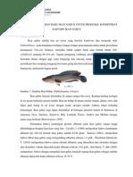 Identikasi Sistem Bahan Baku Ikan Gabus Untuk Produksi Konsentrat Albumin Ikan Gabus