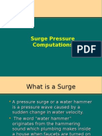 Surge Calculations