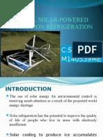 A NOVEL SOLAR-POWERED ADSORPTION REFRIGERATION.pptx