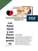 Las Patologías y Sus Pares Biomagneticos MODULO III