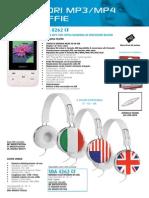 Catalogo 2014 Audiola Lettori Mp3-Mp4 e Cuffie