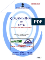 Question Bank on OHE