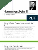 oscar hammerstein ii power point
