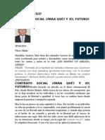 Contrato Social Para Que y El Futuro