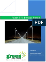 Katalog Dan Harga PJU Tenaga Surya 2015