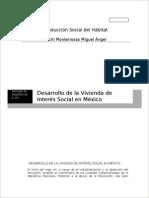 Desarrollo de La Vivienda de Interes Social en México