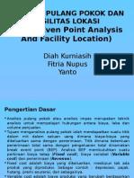 Chapter 2 Analisis Pulang Pokok Dan Fasilitas Lokasi