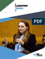 Aotearoa Youth Declaration 2015