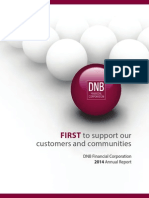 DNB Financial 2014 Annual Report