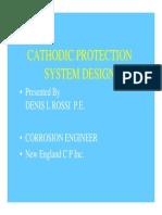 Corrosion Testing d Rossi Cathodic