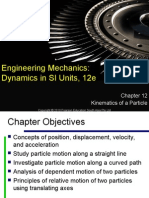 Slide Ch12 Kinematics of Particles
