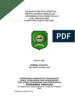 1-Prota Pengawas Sekolah 2012-2013