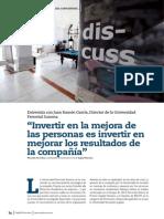 Capital Humano entrevista a Juan Ramón García, Director de  Summa (Universidad Corporativa de Ferrovial).