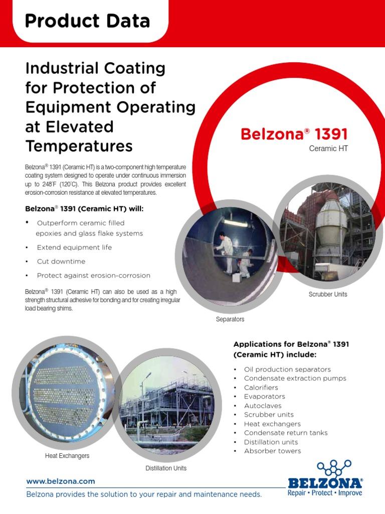 Belzona 1391 | Ceramics | Epoxy