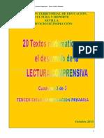 Textos Matematicos - Lectura Comprensiva - e. Primaria Ciclo 3