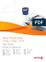 Xerox Work Center 7755