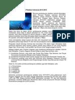 Pemerintah Telah Menyelesaikan Penyusunan Rencana Pembangunan Pitalebar Nasional Yang Dituangkan Dalam Rencana Pitalebar Indonesia 2014 u Berita Di Web Ppid
