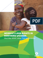 Securing Women Land Rights in Northern Uganda
