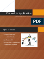 SCM and Its Application