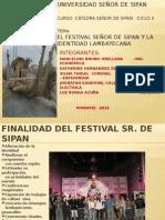 El Festival Seu00d1or de Sipan y La Identidad Lambayecana -2015