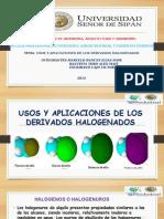 derivados halogenados