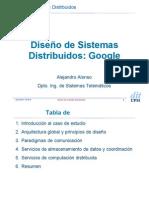 Google Como Sistema Distribuido