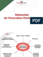 Le Referentiel de l'Innovation Participative
