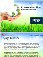Download Environmental PowerPoint Template- Slide World