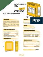 03c- Amplificador 0-200mA (Entrada 0-10V, 4-20mA)