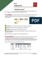 JJ306 Autodesk Inventor Week 2 - Project 1 - Clevis Mount Part