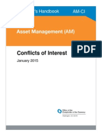 The OCC's Asset Management Conflicts of Interest 2015