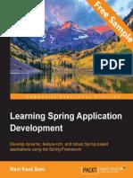 Learning Spring Application Development - Sample Chapter