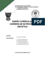 Diseño Curricular Nutric-diet