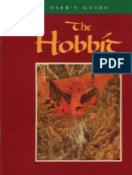 Manual for The Hobbit dos game