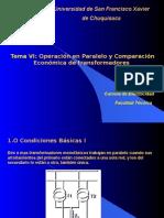 Tema 6 Transformadores Facultad Tecnica