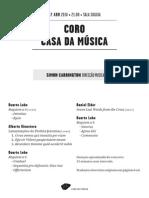 20140417 | Programa de Sala Coro Casa da Música | REQUIEM
