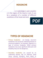 Headache - Finish Problems Advicedache - Finish Problems Advice