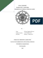 STOIKIOMETRI KOMPLEKS AMMIN-TEMBAGA (II)
