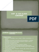 SOP dan CSA GLASS IONOMER.pptx