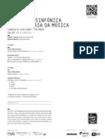 20140308 | Programa de Sala Orquestra Sinfónica do Porto Casa da Música | EXPRESSO ORIENTE