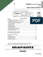 Marantz SA8400 CD