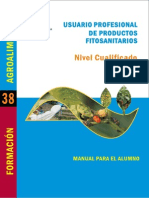 Manual Manipulador de Productos Fitosanitarios. Nivel Cualificado. Manual Para El Alumno.pdf