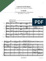 Vivaldi summer score